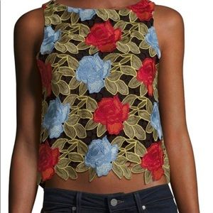 Alice and Olivia Floral Top